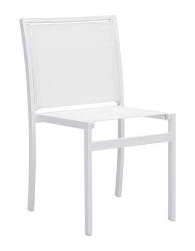 Zuo Modern Two-Piece Mayakoba Dining Chair Set-WHITE-One Size 89134676_WHITE_One Size