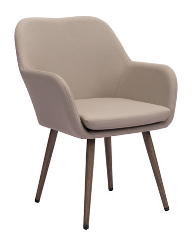 Zuo Modern Pismo Dining Chair-BEIGE-One Size