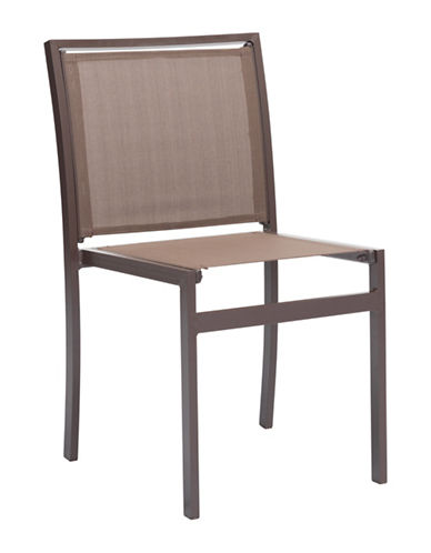 Zuo Modern Two-Piece Mayakoba Dining Chair Set-BROWN-One Size