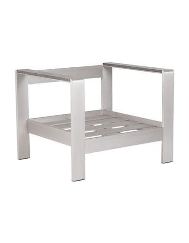 Zuo Modern Cosmopolitan Arm Chair Frame-ALUMINIUM-One Size