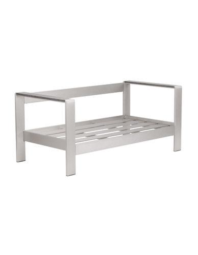 Zuo Modern Cosmopolitan Sofa Frame-ALUMINIUM-One Size