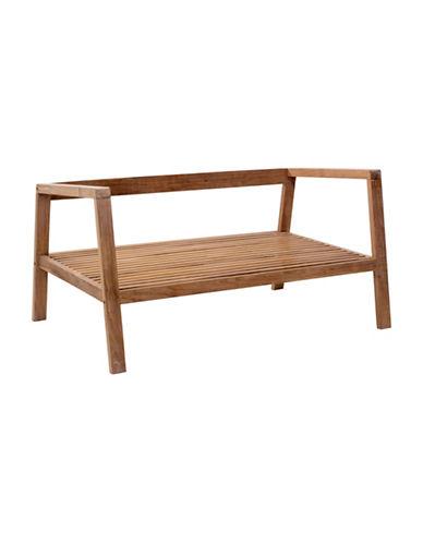Zuo Modern Bilander Wooden Sofa-NATURAL-One Size