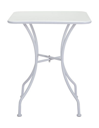 Zuo Modern Oz Square Dining Table-WHITE-One Size 89131967_WHITE_One Size
