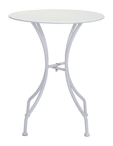 Zuo Modern Oz Round Dining Table-WHITE-One Size