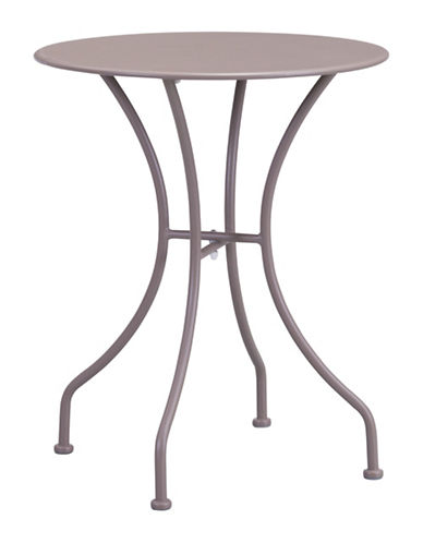 Zuo Modern Oz Round Dining Table-BEIGE-One Size