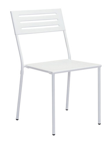 Zuo Modern Two-Pack Wald Dining Chair Set-WHITE-One Size