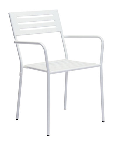 Zuo Modern Two-Pack Wald Dining Arm Chair Set-WHITE-One Size
