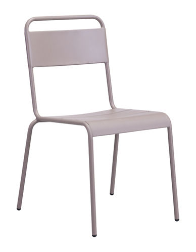 Zuo Modern Two-Pack Oh Dining Chair Set-BEIGE-One Size