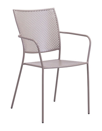 Zuo Modern Two-Pack Pom Dining Chair Set-BEIGE-One Size