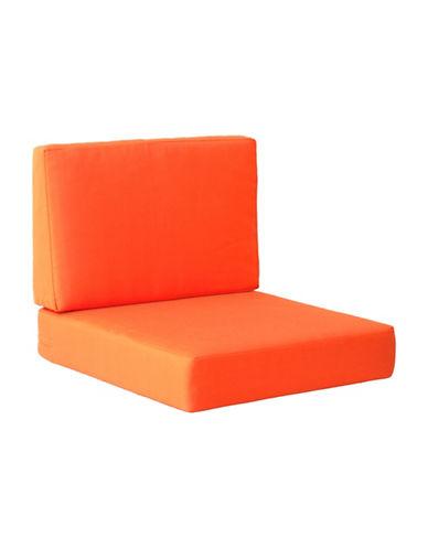 Zuo Modern Cosmopolitan Armchair Cushions-ORANGE-One Size