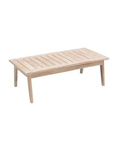 Zuo Modern West Port Coffee Table-BEIGE-One Size