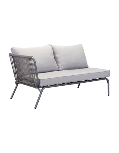 Zuo Modern Pier Laf Double Seat-GREY-One Size