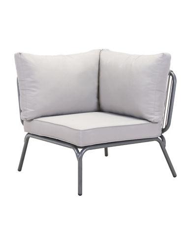 Zuo Modern Pier Corner Single Sectional Sofa-GREY-One Size