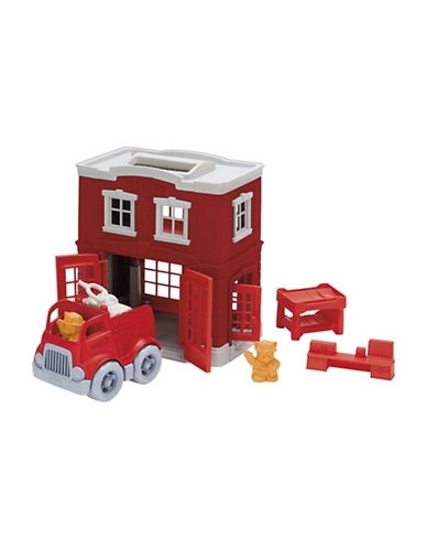 Green Toys Fire Station Playset-ASSORTED-One Size