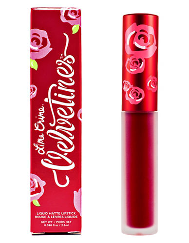 Lime Crime Velvetines Matte Lip Gloss-RED ROSE-0