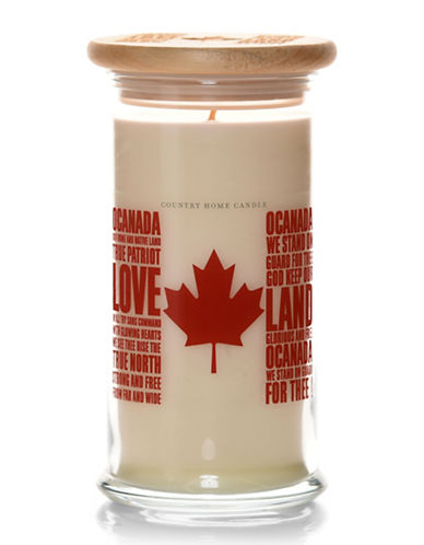 Country Home Candle O Canada Candle-CREAM-One Size