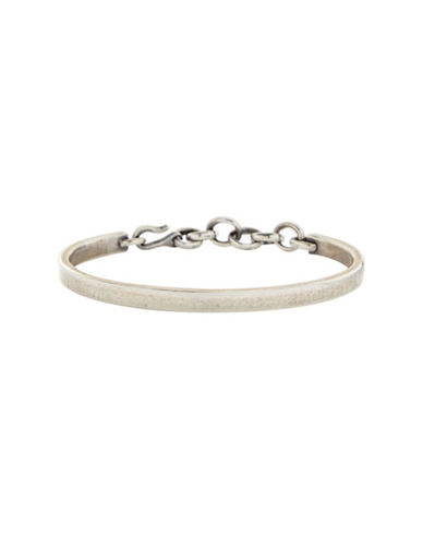 Degs And Sal Sterling Silver Chain and Hook Bracelet-SILVER-One Size