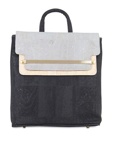 Rok Cork Jessica Cork 3-in-1 Backpack-BLACK-One Size