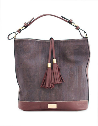 Rok Cork Julia Bucket Hobo-PORT-One Size