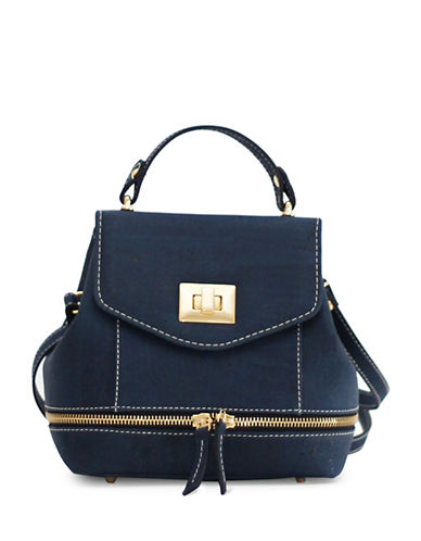 Rok Cork Suzy Q Mini Backpack-BLUE-One Size