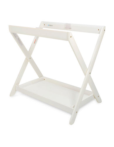 Uppababy Wooden Bassinet Stand-WHITE-One Size