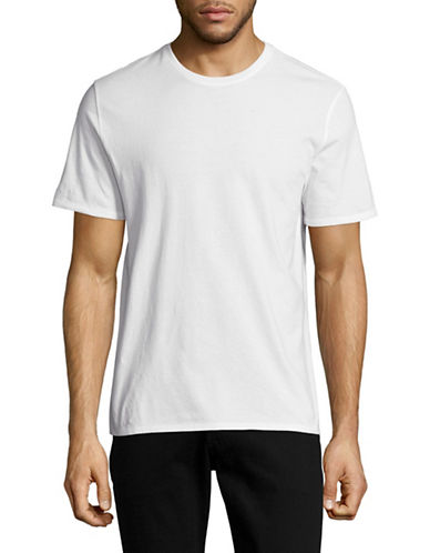 Black Brown 1826 Pima Cotton T-Shirt-WHITE-Large