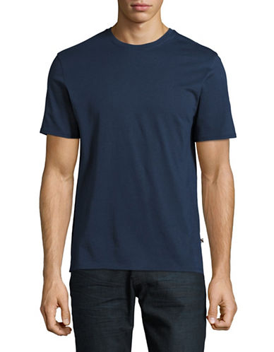 Black Brown 1826 Pima Cotton T-Shirt-BLUE-XXX-Large