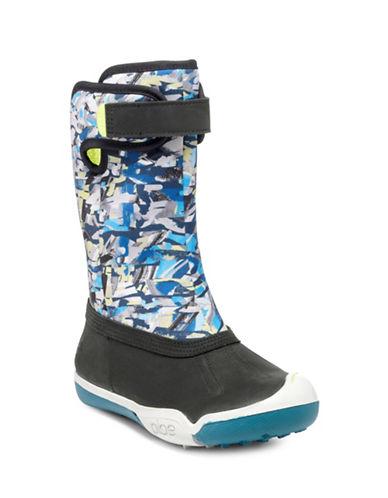 Plae Thandi Printed Boots-LUNAR BLUE-4