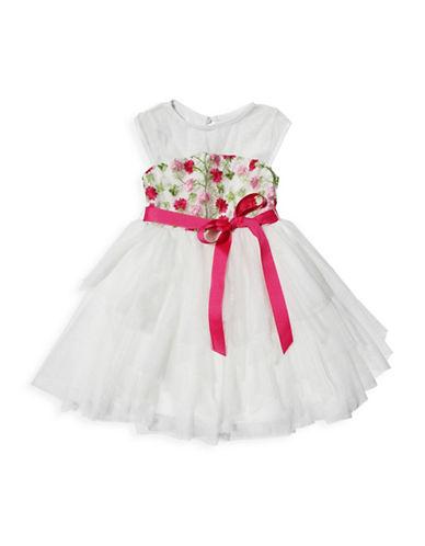 Ava & Yelly Fairy Skirt Party Dress-IVORY-2