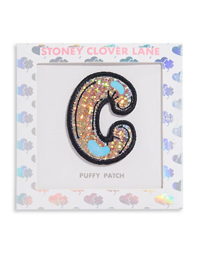 Stoney Clover Lane Sequin Letter Sticker Patch-C-One Size