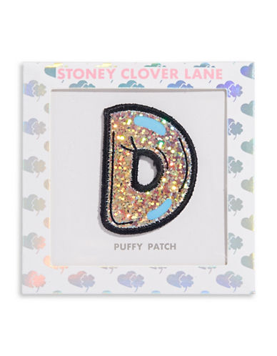 Stoney Clover Lane Sequin Letter Sticker Patch-D-One Size