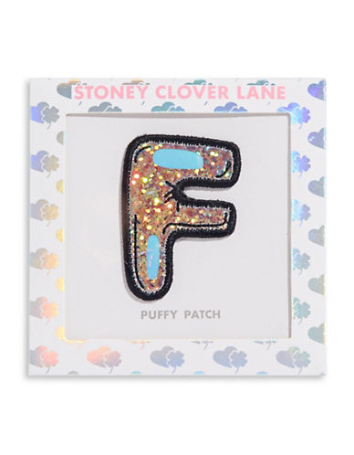 Stoney Clover Lane Sequin Letter Sticker Patch-F-One Size