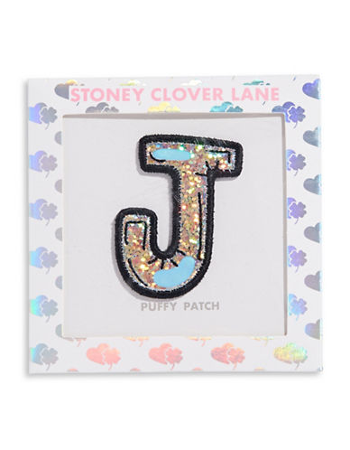 Stoney Clover Lane Sequin Letter Sticker Patch-J-One Size