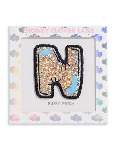 Stoney Clover Lane Sequin Letter Sticker Patch-N-One Size
