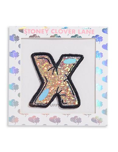 Stoney Clover Lane Sequin Letter Sticker Patch-X-One Size