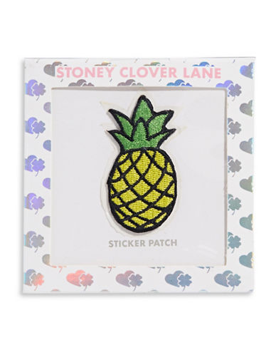 Stoney Clover Lane Pineapple Sticker Patch-MULTI-One Size