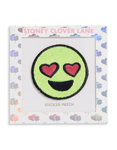 Stoney Clover Lane Heart-Eye Sticker Patch-MULTI-One Size