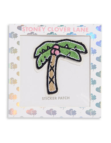 Stoney Clover Lane Palm Tree Sticker Patch-MULTI-One Size