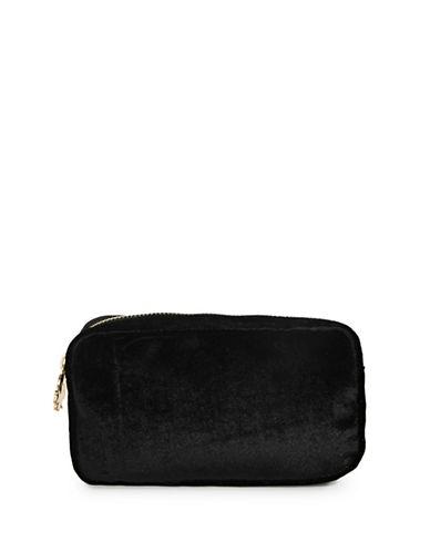 Stoney Clover Lane Velvet Pouch-BLACK-One Size