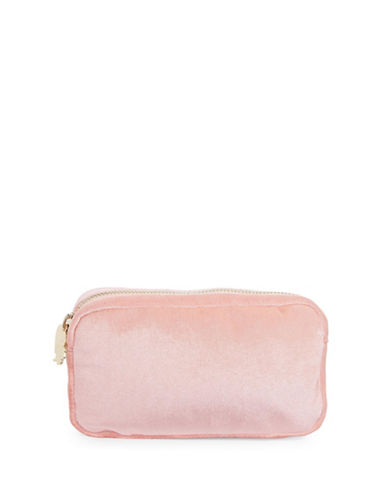Stoney Clover Lane Velvet Pouch-BLUSH-One Size