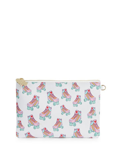 Stoney Clover Lane Roller Skate Leather Pouch-MULTI-One Size