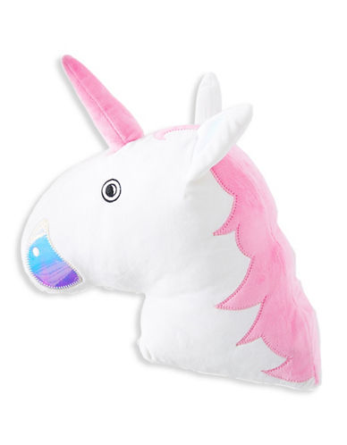 Stoney Clover Lane Unicorn Pillow-MULTI-One Size