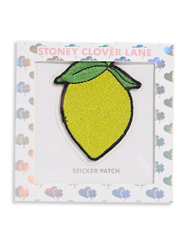 Stoney Clover Lane Lemon Sticker Patch-MULTI-One Size