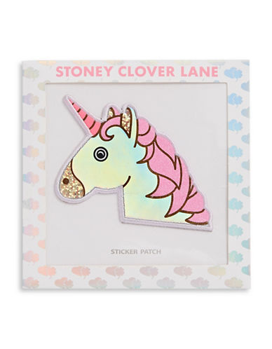 Stoney Clover Lane Sequin Unicorn Patch-MULTI-One Size