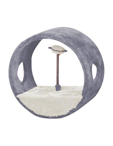 Petpals Vortex-M Interactive Cat Toy-GREY-One Size