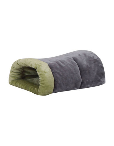 Petpals Soo Snuggly Pet Sleeping Bed-GREY-One Size