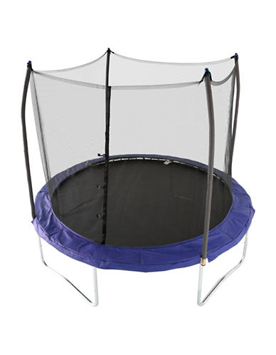 Skywalker Trampolines 10-Foot Round Trampoline with Enclosure