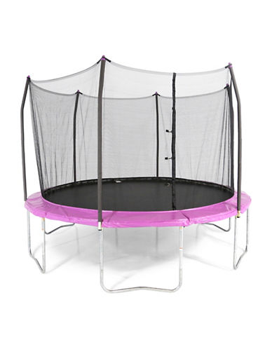 Skywalker Trampolines 12-Foot Round Trampoline with Enclosure-PURPLE-One Size