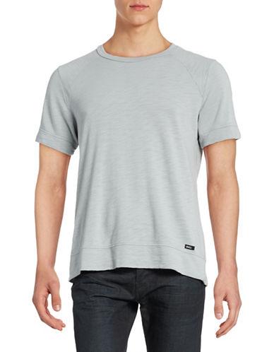 Uncl Slub Knit Raglan T-Shirt-GREY-Small 88430456_GREY_Small