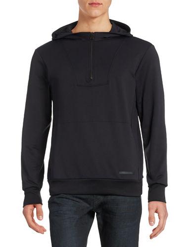Uncl Rivet Half-Zip Hoodie-BLACK-Large 88430466_BLACK_Large